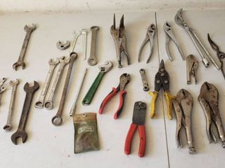 Vise Grips  Pliers  Wrenches and other Hand Tools