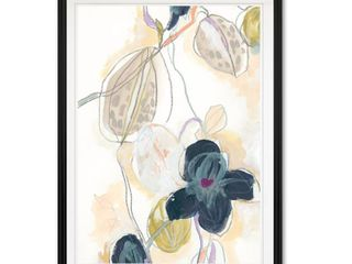 Abstracted Orchid II  Custom Framed Print  Retail 162 99