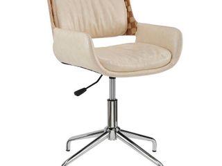 Carbon loft Nasim Height Adjustable Swivel Accent Home Office Desk Chair  Retail 175 99