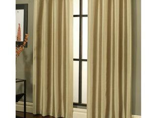 Sherry Kline Faux Silk Grommet Top Blackout Window Panel Pair   50 x 84  Retail 102 99