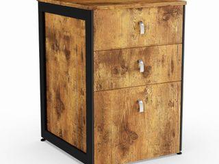 Carbon loft Virgie Nutmeg File Cabinet  Retail 168 99