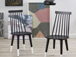 Angelo HOME Hermosa Dining Chair  Set of 2  Retail 143 99