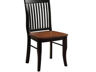 Slat back Dining Chairs  Set of 2