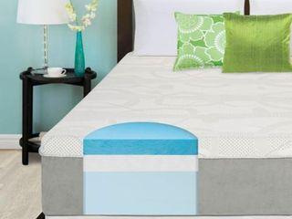 Slumber Solutions 14 inch Gel Memory Foam Choose Your Comfort Twin Mattress   White  Retail 359 99