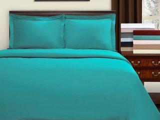 Miranda Haus lorenz Embroidered Cotton Full Queen Duvet Cover Set