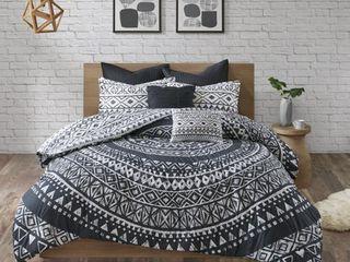 Urban Habitat Cora 7 Piece Cotton Reversible King Cal King Comforter Set  Retail 121 49