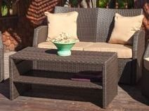 Sanger Outdoor Wicker Seating Set by Christopher Knight Home  Retail 731 99