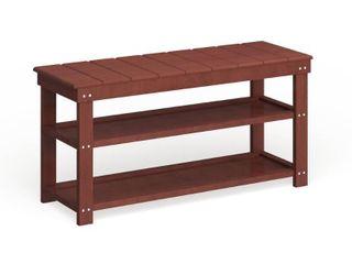 Copper Grove Cranesbill Mudroom Shoe Storage Bench  Retail 81 48
