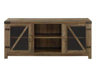 The Gray Barn Kujawa 58 inch Reclaimed Barnwood TV Stand Console