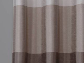 Porch  amp  Den Ocean Striped Window Curtain Panel Pair with Grommet Top 54 x 84