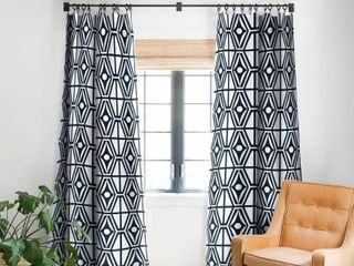 Heather Dutton Metro Steel Blackout Curtain Panel  84 Inches Retail 119 99