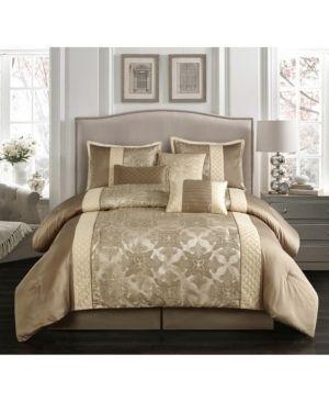 Grand Avenue Marjoram 7 piece Queen Comforter Set  Retail 97 99