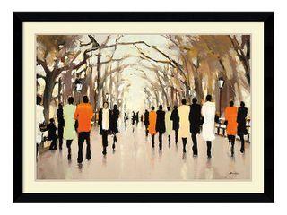 Framed Art Print  Poet s Walk  by lorraine Christie 43 x 32 inch  Retail 226 99