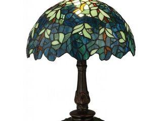 17 inch Nightfall Wisteria Accent lamp  Retail 258 93
