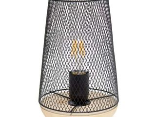 Wired Mesh Uplight Table lamp