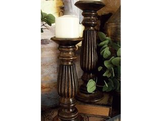 Copper Grove Candle Holders  Set of 3