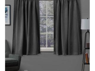 Woven Blackout Curtain Panel Pair
