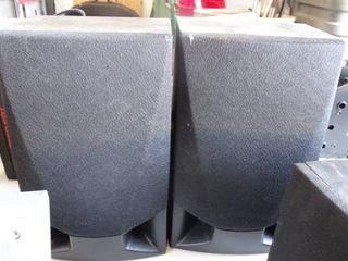 Set of 2 Sharp Speakers