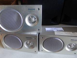 Set of 3 Sharp Speakers