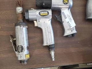 Central Pneumatic Die Grinder  Pneumatic Polisher and Air Hammer