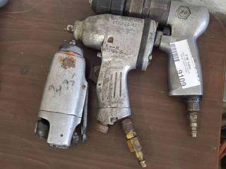 Air Drill and 2 Air impact guns