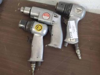 2 Pneumatic Sanders and Pneumatic Drill