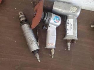 Pneumatic Drill  Sander and Hammer