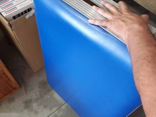 Blue Portable Massage Table