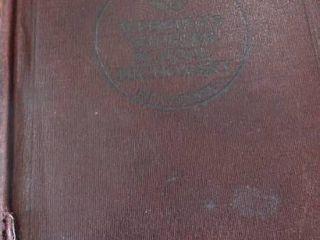 1914 Websters Shorter School Dictionary