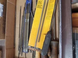 lot of Assorted Cutting Chain Files