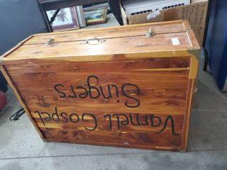 Varnell Gospel Singer Wooden Storage Box