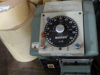 The Marsh Taper Water Activated Gummed Tape Dispenser