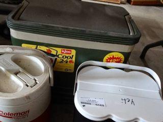 Cooler   Water Dispenser and Battery Box