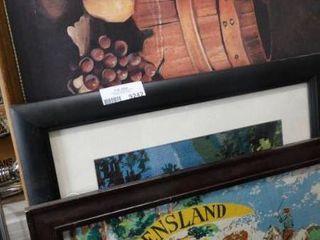 lot of 3 framed Prints