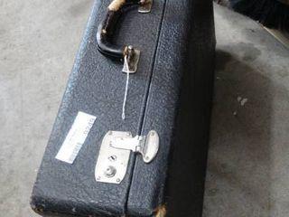 Split Cowhide Suit Case