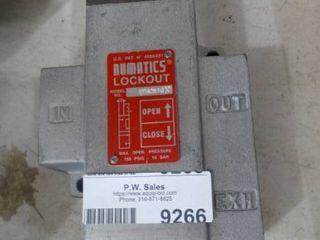 Numatic lockouts