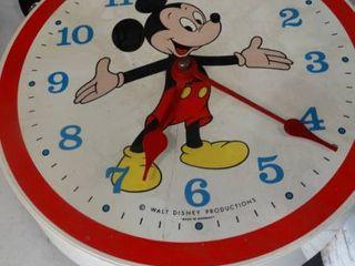 Walt Disney Mickey Mouse Wall Clock