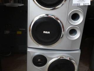 lot of 2 RCA Speakers