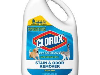 Clorox Pet Solutions Stain   Odor Remover Refill Bottle  128 fl  oz  128 FZ
