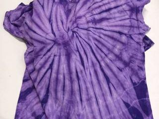 lot of 10 Purple tie die shirts gildan