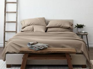 Solids in Style by The Home Collection Bed Sheet Set  Queen Bedding