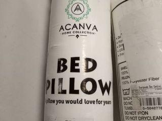 2 acanva bed pillow