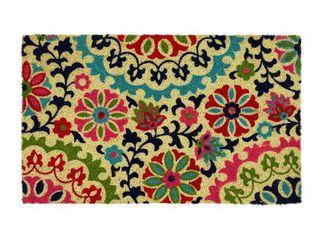 Mohawk Home Summertime Suzani Coir Doormat Mat  18X30