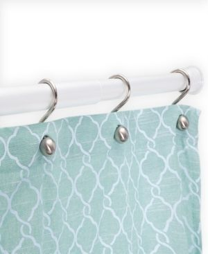 Kenney Twist Fit No Tools Rust Proof Aluminum Shower Curtain Rod  42 72  Bedding