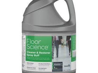 Floor Science Cleaner Restorer Spray Buff  Citrus Scent  1 gal Bottle