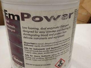 Empower dual enzymatic detergent