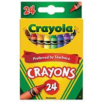 Crayola Classic Crayons featuring Bluetiful  24 Count  12packs