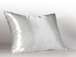 Sweet Dreams luxury Satin Pillowcase with Zipper   Silky Satin Pillow Case for Hair  By Shop Bedding 2pk