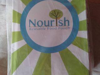 Nourishish Reusable Food Pouch