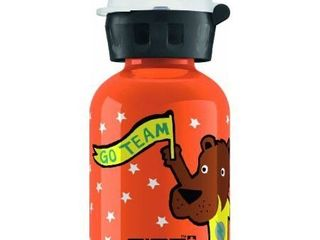 SIGG Go Team Bear Elephant Water Bottle  Orange  0 3 liter